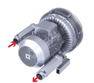 cooling regenerative blower